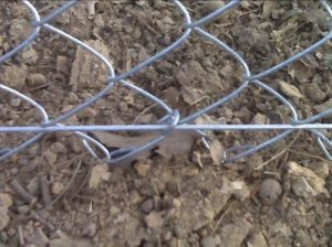 Bottom Tension Wire for Temporary Fence