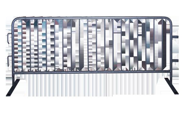 American Fence Rental Company Fence Barricade 3