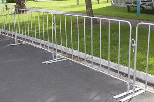 American Fence Rental Company Fence Barricades