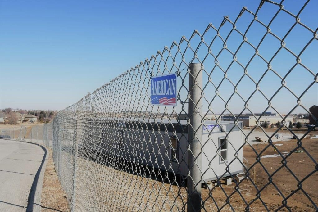 Chain Link Temporary Fence - American Fence Rental Company